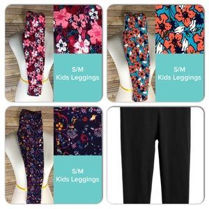 4 pairs of NWT LuLaRoe kids s/m leggings